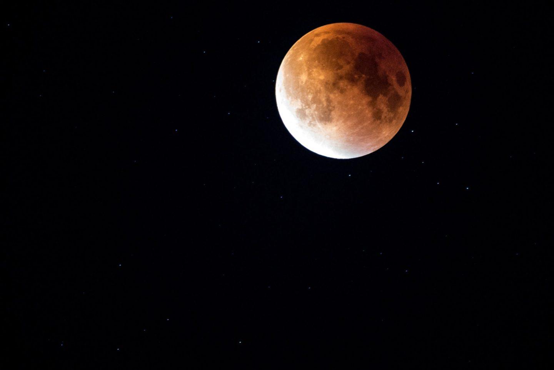Super Blood Blue Moon
