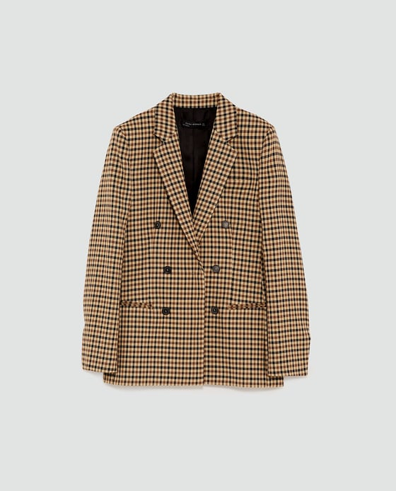 Zara Check Jacket